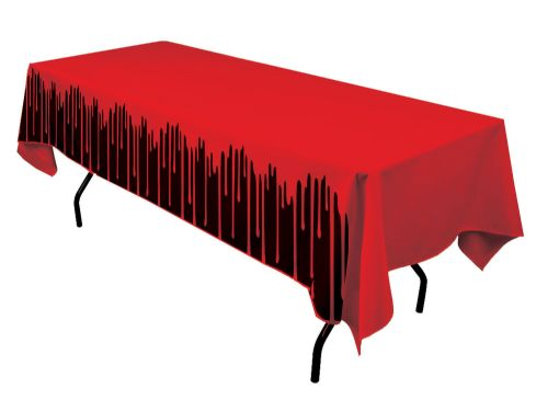 Bloody Table Cover 137x274cm Bleeding Wound Vampire Party Favour